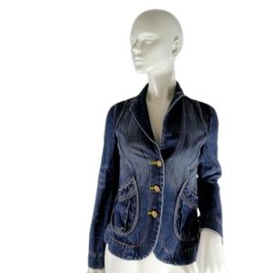 Armani Exchange Jacket Blue Jean Size S
